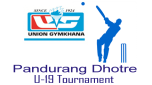 U-19 Pandurang Dhotre Tournament - 2013 Today's Match Details 22/05/2013
